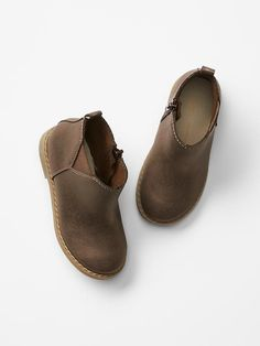 Metallic chelsea booties for toddler girls from Gap Kids to go with floral cord leggings!