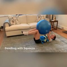 Fitness Workouts, Gym Workout Videos, Gym Workout For Beginners, Fitness Workout For Women, Easy Workouts, Yoga Fitness, Fitness Ball Exercises, Stability Ball Exercises, Swiss Ball Exercises