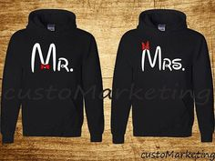 COUPLE MATCHING HOODIES (Comes with both(2) Hoodies) Product Details: These are all new Gildan and Jerzees heavy blend hoodie 50% Cotton and 50%
