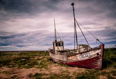 Hvalsnes Abandoned Boat, Iceland / by David Long