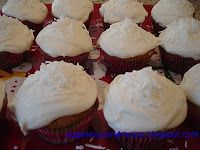 Egg Allergy and Recipes: Winter Snowball Cupcakes with Egg Free Marshmallow Icing