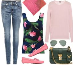 Spring casual outfit for her