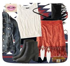 """""""Winter Wanderlust with American Eagle: Contest Entry"""" by lovecostarica ❤ liked on Polyvore featuring American Eagle Outfitters and Fiebiger"""