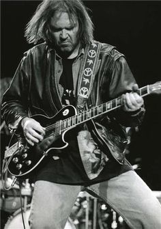 """THE MAN"". #1 across the board. Neil Young and Old Black in full on Stomp mode. ""It's better to burn out  than to fade away""."