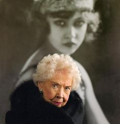 Last of the Ziegfeld Follies Girls - Doris Eaton Travis 1904-2010:  Possibly only 14 years old at the time this photo the back photo was taken, the last surviving Ziegfeld girl, passed away June 2010, at the age of 106.