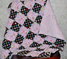 Richard and Tanya Quilts: Rag Quilt from Stash #7