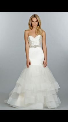 916e115aee7d2 Tara Keely 2458 Wedding Dress Size 8, Good Condition, Worn Once, Retail  $2745