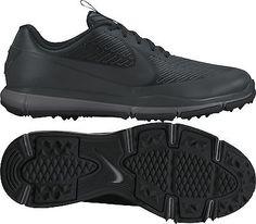 sporting goods  New Nike 2017 Explorer 2 Mens Golf Shoes - Black - Pick Size 8c0b64395