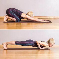 Pilates : Pompe push up - Pilates : 50 postures de base Pilates Workout, Pilates Reformer Exercises, Knee Exercises, Pilates Video, Pilates For Beginners, Beginner Pilates, Pilates Yoga, Pilates Posture, Cardio