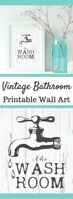 Bath Room Printable, Wash Room print, printable wall art, bathroom wall sign, bath vintage print, printable bathroom sign, vintage bathroom #ad #vintage #bathroomideas #bathrooms #bathroomdecor #bathroomdesign #decor #decorate #decoratingideas #wallart #walldecor #wallhanging #printable #rustic #farmhouse #farmhousestyle #farmhousedecor #farmhousebathroom