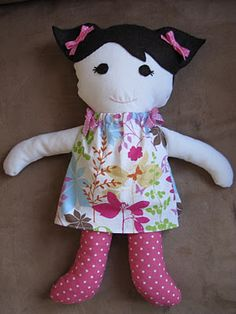 I wanna make this for my niece.  Ill make it look like her.