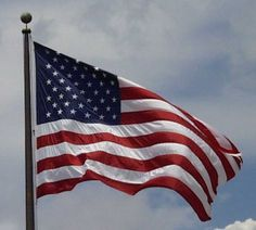 Brush up on your US flag etiquette American flag  #Americanflag