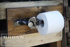 Image of Industrial Wrench Toilet Paper Holder