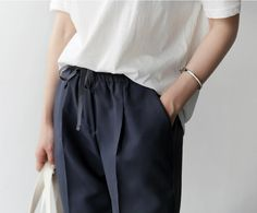 Soft Tailoring - relaxed chic style inspiration