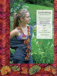 Jazzknitting is fun and stress-free. There are no swatches or mistakes to make, no stitches to count, or charts to follow. Jazzknitting is truly knitting with no worries, yet unlike free-form knitting, there are principles guiding a variety of structural decisions.    Jazzknitting: An introduction, tells the story of the design process that led to basic Jazzknitting techniques, one idea building on another....