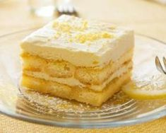 Tiramisu léger au citron Fourchette & Bikini http://www.fourchette-et-bikini.fr/recettes/recettes-minceur/tiramisu-leger-au-citron.html