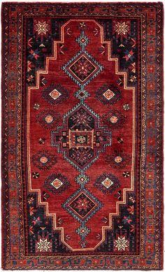 Red 10 x Koliaei Persian Rug Magic Carpet, Tribal Rug, Persian Rug, Kilim Rugs, Decoration, Bohemian Rug, Sweet Home, Textiles, Red