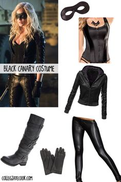 CW Arrow Costume Ideas -- How to dress like the Black Canary this Halloween