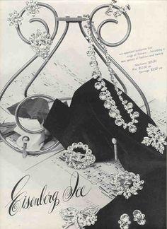 1953 Eisenberg jewelry ad