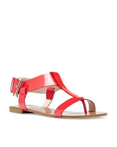 Flat gladiator sandal Summer Footwear Collection 2013