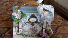 Marie Antoinette Luggage Handmade Photo/Keepsake Album