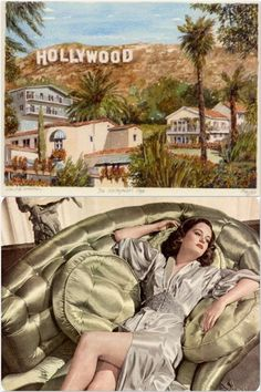 Old Hollywood = Luxurious fabrics and finishes. And a lot of them - indulgence. Very high end.