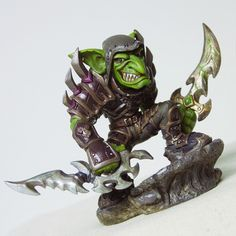 WORLD OF WARCRAFT GOBLIN ROGUE ACTION FIGURE