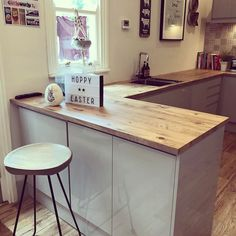 So standard Saturday night in the Hedley house!! Britains got talent wine and popcorn 🍿. Here's a rare picture of my kitchen tidy. We still need a friend for the lonely stool. #interiorwarrior #interiors4all #interiorinspo #instahome #kitchendesign #kitchendecor #kitcheninspo #victorianhome #victorianhall #victoriandecor #victorianhouse #myhome #mystyle #myhouse #myhshome #myhomevibe #mysassyhomestyle #styleithappy #stylingbyme #instahome #instainterior #greykitchens #glosskitchens…