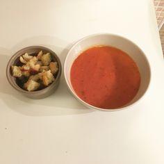 Supa de rosii coapte