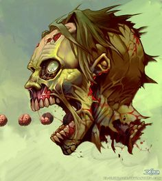 PAC ZOMBIE by *el-grimlock on deviantART