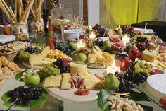 Mesa de quesos.