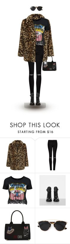 """""""december17 saturday"""" by explorer-14148396987 on Polyvore featuring New Look, AllSaints, Boohoo and Undercover"""