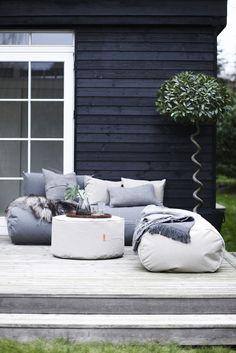 Bodenkissen / outdoorgeeignet - 90 x 50 cm, Grau von Trimm Copenhagen finden Sie bei Made In Design, Ihrem Online Shop für Designermöbel, Leuchten und Dekoration.