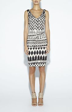 Nicole Miller Kenna Temple Ikat Dress #NicoleMiller #StretchBodycon #Casual