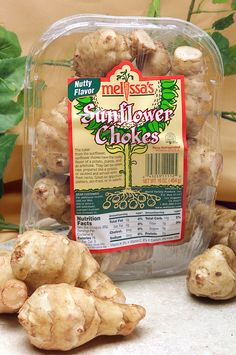 A lumpy, brown-skinned vegetable, the #sunflower choke resembles ginger root but is actually a variety of sunflower root. Sometimes referred to as a Jerusalem artichoke, it is not an #artichoke!