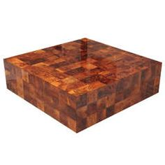 Square Paul Evans for Directional Coffee Table