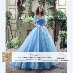 Cheap dress stilettos, Buy Quality dress gypsy directly from China gowns online Suppliers: Vestidos De Novia Sexy Cinderella Wedding Dress Vintage Blue Wedding Dress 2016 Robe De Mariage Bridal Gown Customized