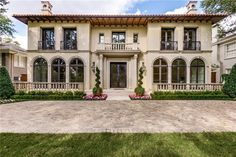 Italian villa :: Highland Park, Texas