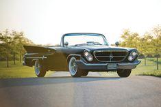 Chrysler 300G 1961 Chrysler 300G Convertible   VIa: Silodrome.com #car #chrysler