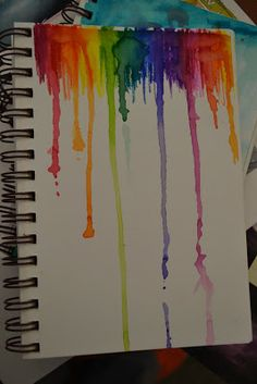 The sunny art room: Sketchbook assignments: Paint with markers