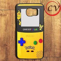 Pokemon Gameboy Samsung Galaxy S6 Edge Plus Case