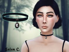 Standalone. One color.  Mesh by me  Found in TSR Category 'Sims 4 Female Necklaces'