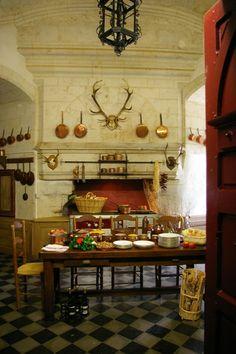 Château de Brissac #Kitchen