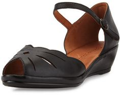 389e3a653c0 Gentle Souls Lilly Moon Demi Wedge d Orsay Sandal