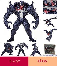 New Marvel SELECT VENOM Spider-ManVillian DELUXE Comic Action Figure gift in box