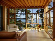 Vérandas de vos rêves-35 idées fantastiques - véranda-belle-pittoresque-vieux-mer-confortable