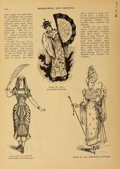 Masquerade and carnival: their customs and cost...