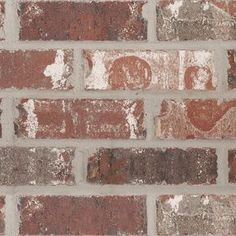 Boral Brick Old Jackson Queen Extruded Red Light Texture Clay Brick Exterior House Colors, Exterior Paint, Cladding Materials, Brick Masonry, Brick Paneling, Garage House Plans, Jackson, Home Fix, Interior