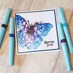 Watercolour AquaTint Butterflies