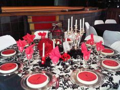 moulan rouge theme parties | planning a moulin rouge cabaret themed dinner or bachelorette party ...